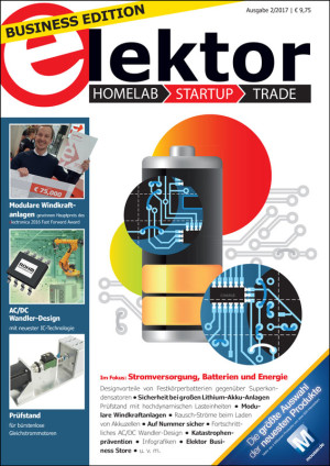 Elektor Business Magazine Ausgabe 2/2017