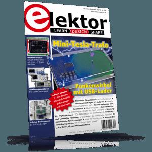 Elektor 11-12/2017 am Kiosk erhältlich