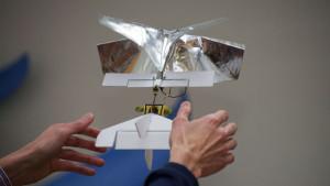 Un drone de 20 gr pour sauver des vies
