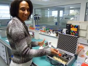 Biocapteurs immergés pour une détection très rapide des polluants