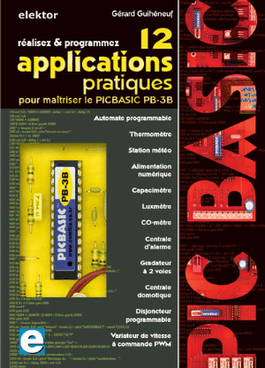 Applications du PICBASIC PB-3B : 12 fichiers Gerber gratuits