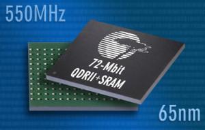 Toujours plus : SRAM de 72 Mbits en 65 nm à 550 MHz