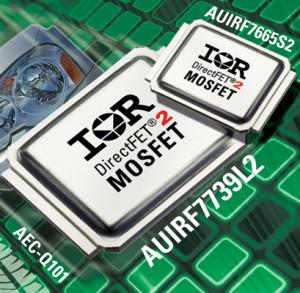 Densité de puissance et performances des MOSFET de puissance DirectFET®2 pour l'automobil