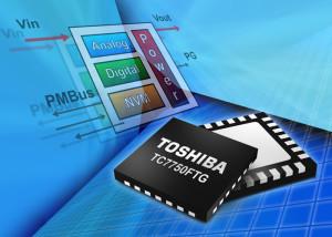 Convertisseur continu-continu Toshiba