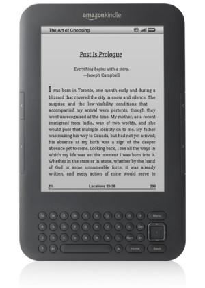 3G gratuite sur le Kindle allégé et aminci