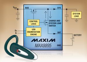 Maxim charge vos batteries sur l'USB
