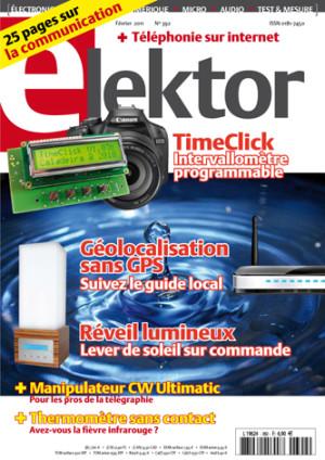 Le numéro d'Elektor de février en ligne !