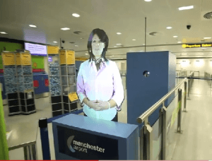 Des employé(e)s holographiques travaillent 24 heures sur 24