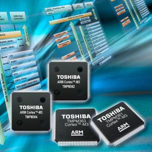 1 Mo de mémoire Flash  + CAN + USB + I2C pour micros ARM Toshiba