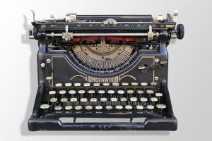 La machine à écrire est morte