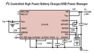 LTC4155 : circuit à tout faire pour alimentations