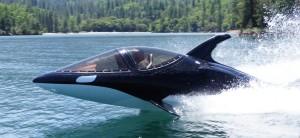 Un bateau submersible qui saute et plonge comme un orque