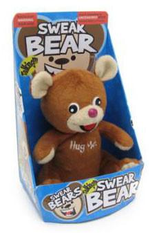 L'ours en peluche mal léché