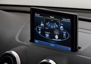 Intégration de MOST150 dans l'Audi A3