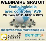 Webinaire : radio logicielle avec AVR