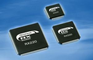 32 bits : 11 nouveaux microcontrôleurs Renesas...