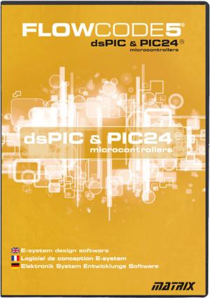 PIC24 & dsPIC : C beaucoup plus facile avec le langage Flowcode5