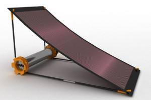 Générateur solaire : léger et puissant