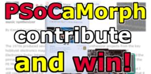 Participez au projet de synthé PSoCaMorph et gagnez un kit PSoC 5 !