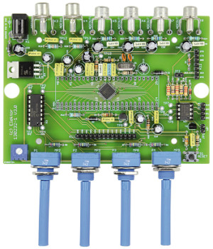 Nouveau kit de composants : carte DSP Audio universelle à ADAU1701