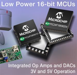 PIC24 Lite : nouvelles fonctions analogiques intégrées