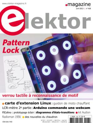 Elektor : le numéro d'avril 2013 vient de paraître