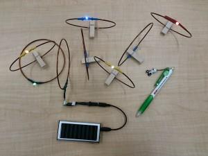 Transmission d'énergie sans fil et résonance de courant continu
