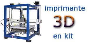 Imprimante 3D en kit chez Elektor !