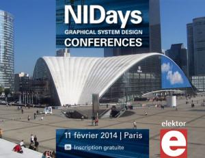 Rencontrez l'équipe d'Elektor sur NI Days mardi 11 février