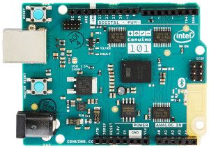 La carte Arduino/Genuino 101.