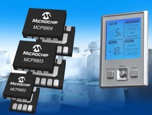 La famille de capteurs MCP990X.