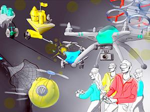 DroneClash: compétition anti-drone