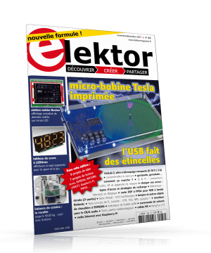 Lisez le magazine Elektor gratuitement pendant quatre mois !