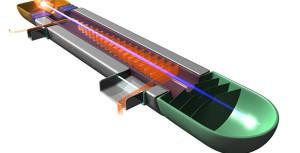 Modélisation d'un tube de 75 GHz