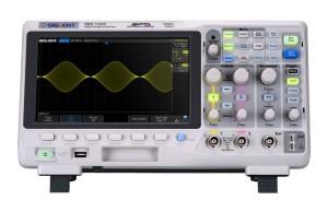 L'oscilloscope SDS1102X de Siglent.