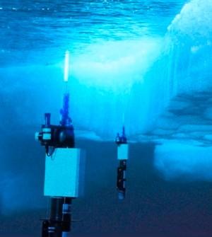 Ces robots flotteurs-profileurs permettront l'étude des eaux sous la glace de l'Antarctique.