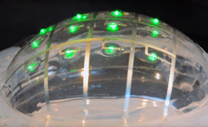 Circuits imprimés étirables  comme du caoutchouc