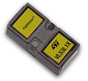 Capteur laser de proximité : portée 4 m