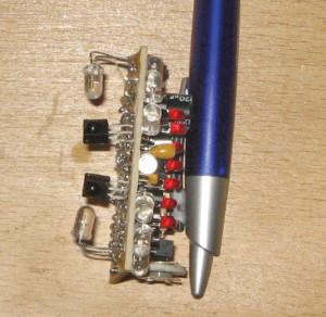 Projet n° 66 : pare-chocs IR pour robot fonceur - Protection tous azimuts