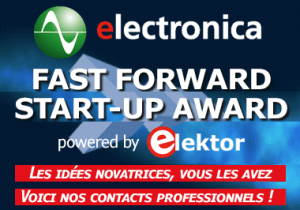 Innovez avec l'electronica Fast Forward Award powered by Elektor