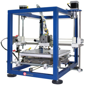 Elektor 3D-printer met veel extra's
