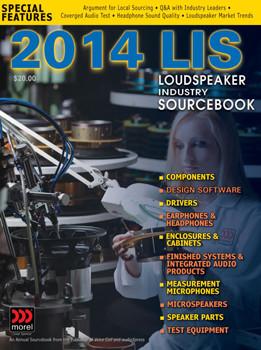 Nieuwe versie van Loudspeaker Industry Sourcebook nu beschikbaar