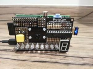 ProtoCam voor de Raspberry Pi