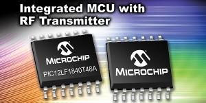 Microcontroller met geïntegreerde HF-zender