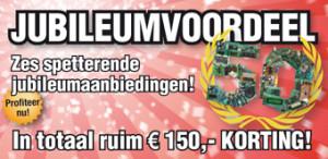 Ruim 150 euro jubileumvoordeel voor Elektor-abonnees