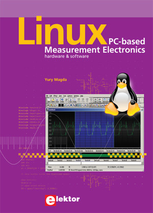 Nieuw Elektor-boek: Linux PC-based Measurement Electronics
