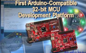 Eerste Arduino-compatibele 32-bits ontwikkelborden van Microchip