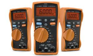 Multimeters voor donkere en lawaaiige omgevingen
