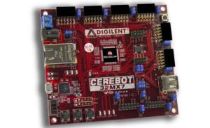 Nieuwe PIC32-gebaseerde Cerebot 32MX7 development kit