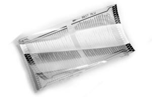 Complete microprocessor gerealiseerd in plastic